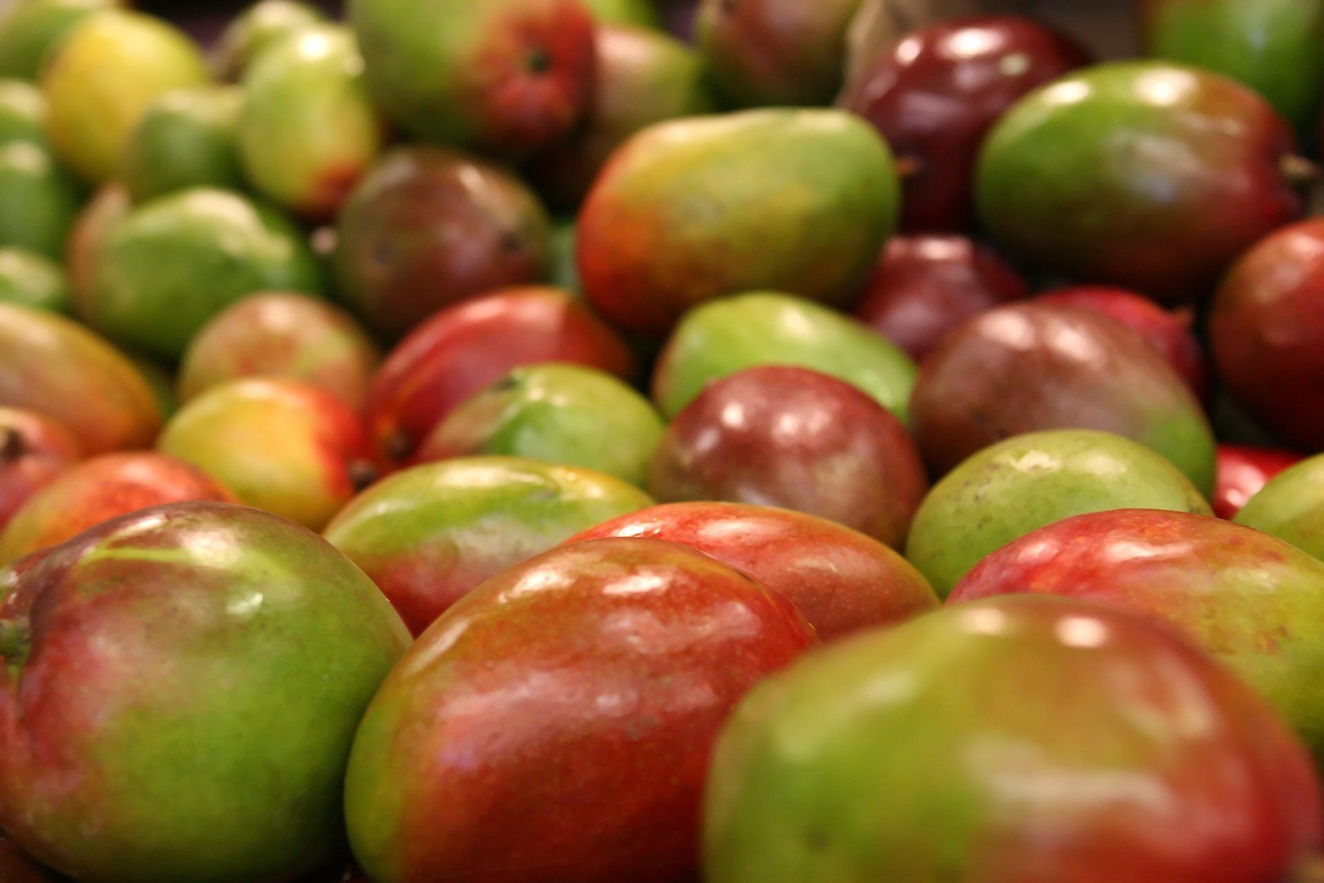 Imagen correspondiente al post sobre propiedades del mango y sus beneficios de Frutas Olivar