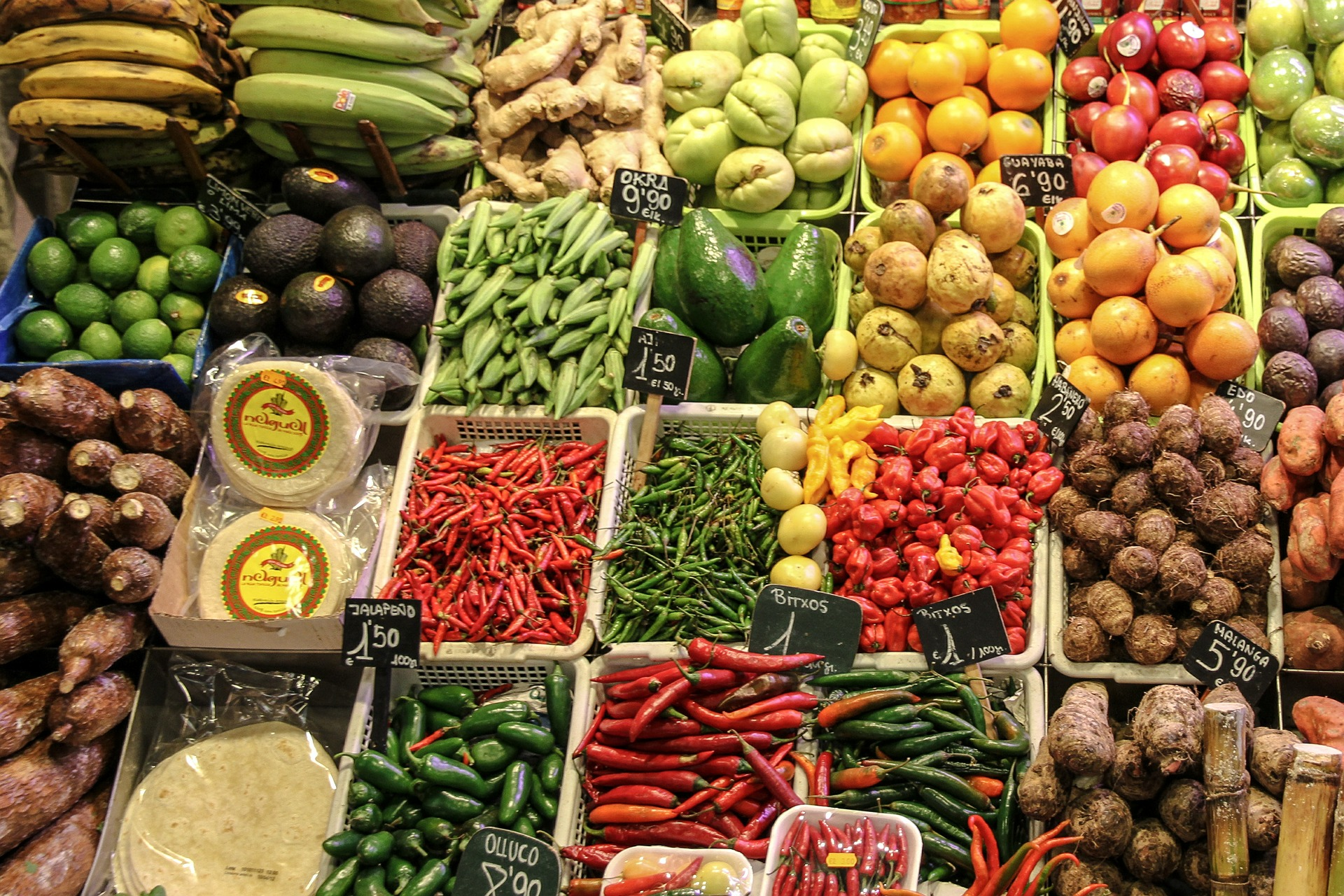 5 curiosidades sobre la venta de frutas y verduras