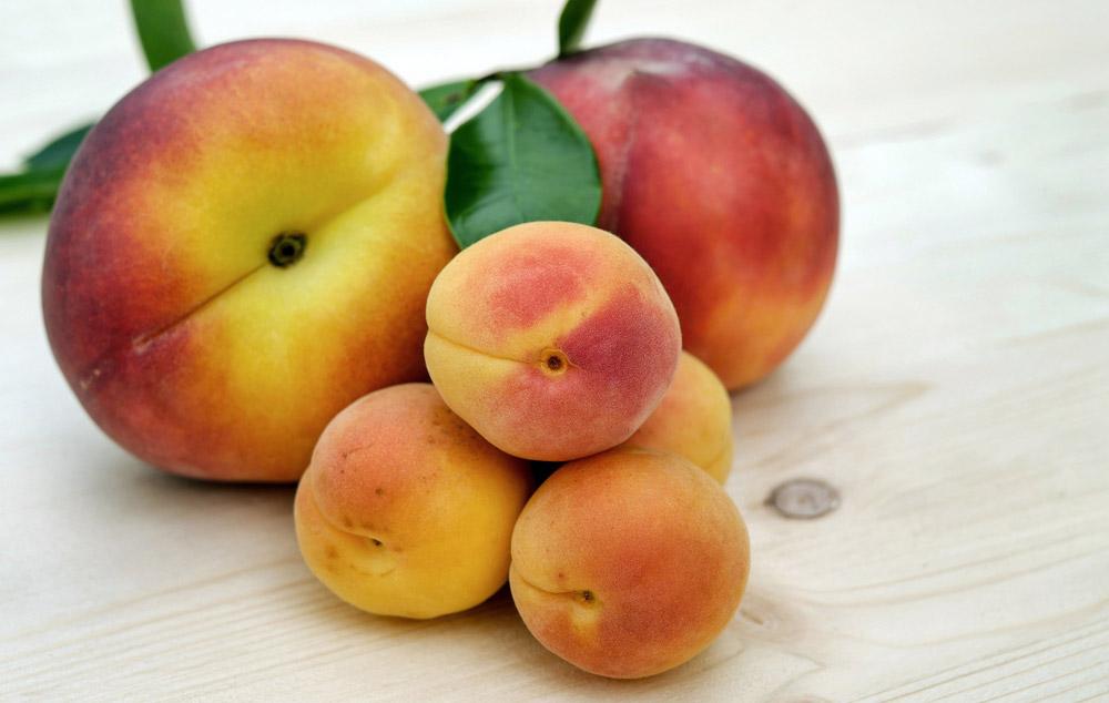 frutas con hueso