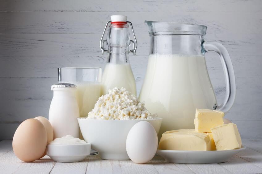 los lácteos en la nueva pirámide alimenticia