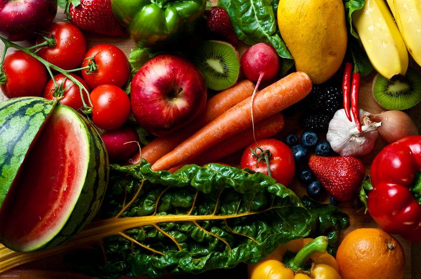 las verduras en la nueva pirámide alimenticia