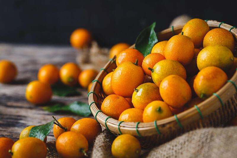 frutas exoticas kumquat