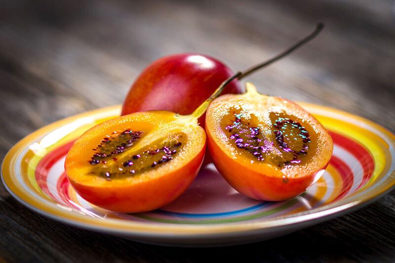 frutas exoticas tamarillo