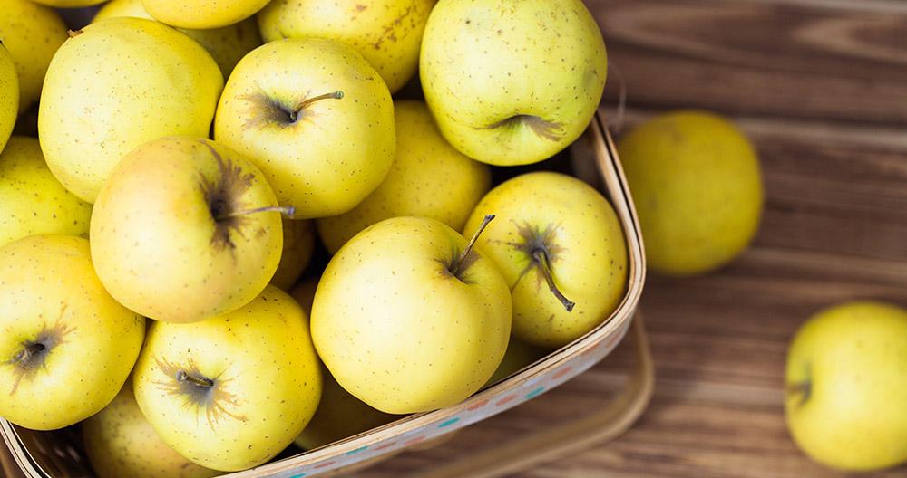 Tipos de manzanas amarillas