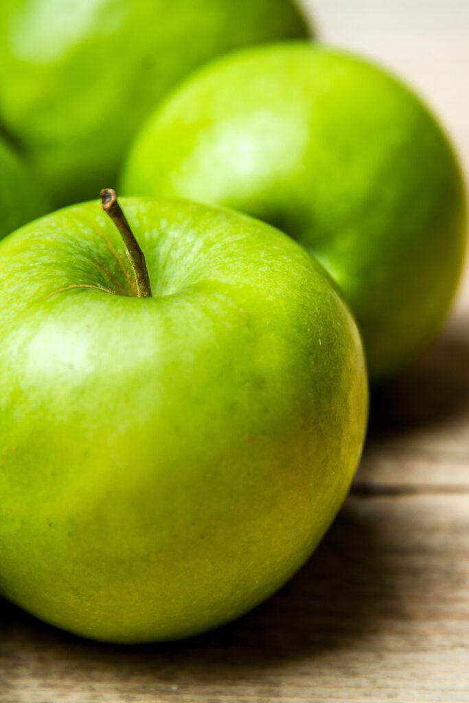 Tipos de manzanas verdes