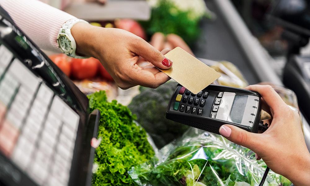 Tendencia en la venta de verduras