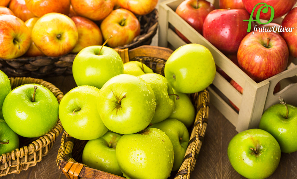 Qué tipos de manzanas hay