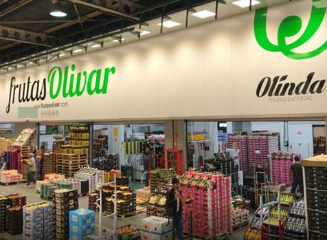 visitar instalaciones de venta al por mayor de frutas olivar mercamadrid