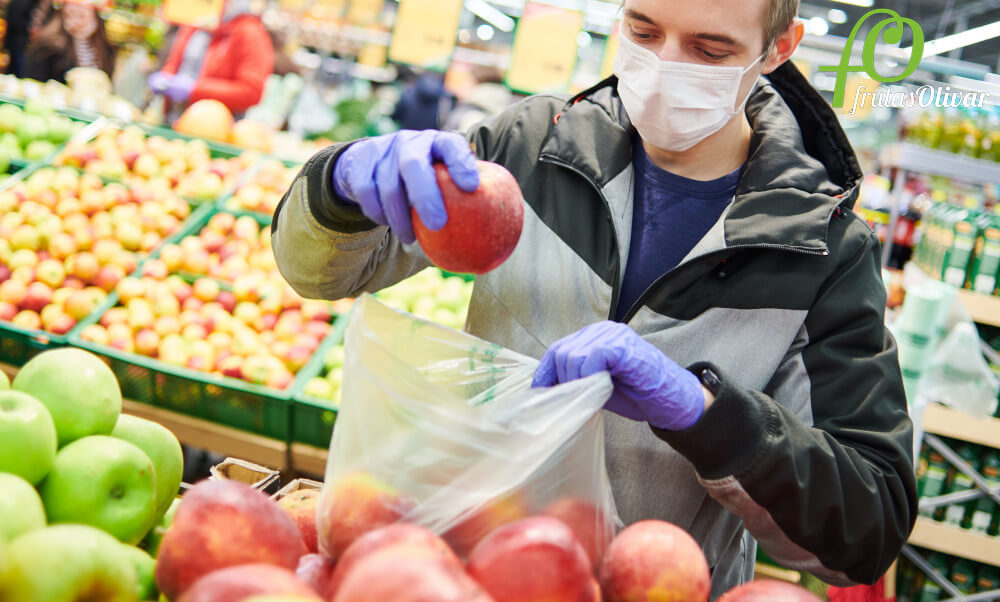 Recomendaciones para comprar fruta y verdura para prevenir el Covid-19.