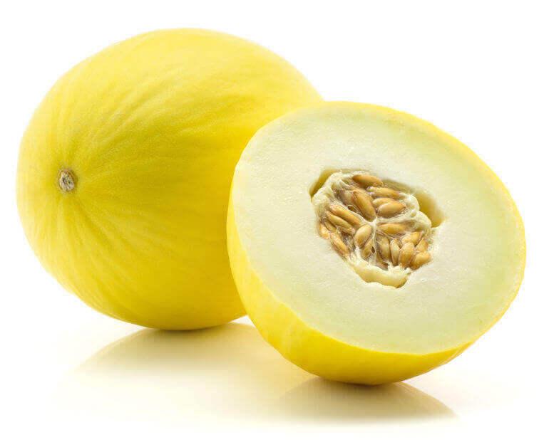 tipo de melón amarillo canario
