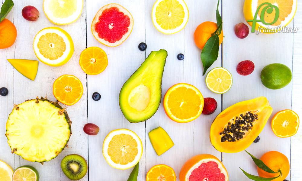 Frutas tropicales ricas en antioxidantes