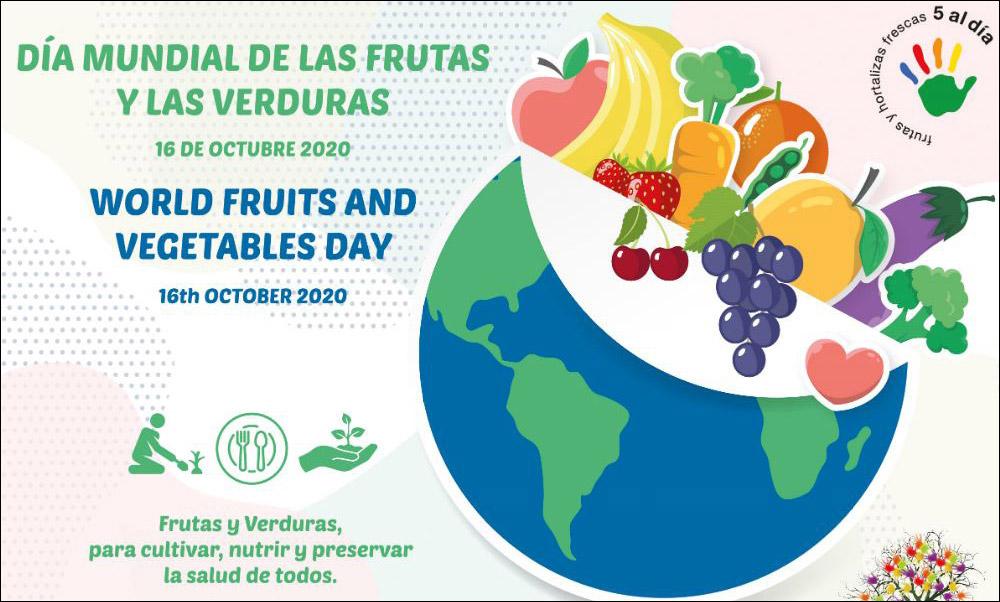 Día Mundial de las Frutas y las Verduras